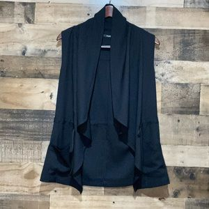 Maurices Small Black Vest Womens